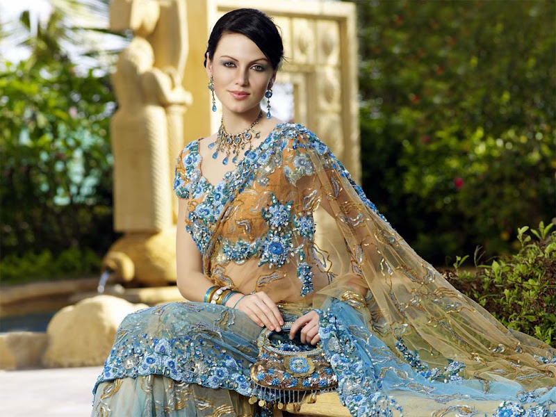 Yana Gupta latest Wallpapers  Cute girl in typical indian wears wallpapers