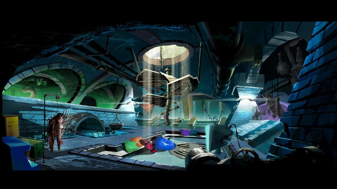 Hgg nickelodeon tmnt 2012 secret sewer lair playset