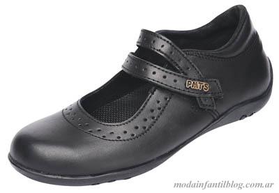 zapatos colegiales para niñas plumitas otoño invierno 2014