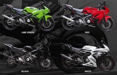 Striping Baru Kawasaki Ninja 150RR 2013