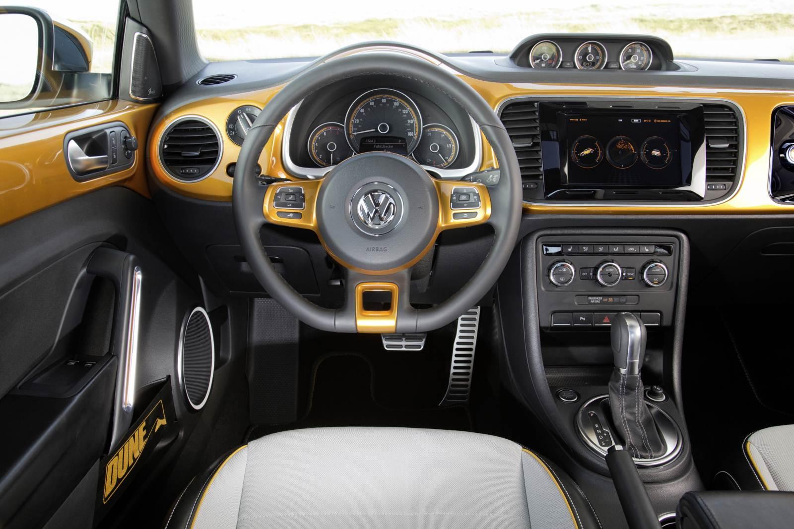 Beetle Dune - versão esportiva - será produzido em série   CAR.BLOG ... Vw Beetle 2014 Interior