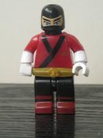 Power Rangers Super Samurai Mega Bloks Metallic Red Ranger 02