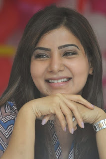 Actress Samantha Latest Pictures at Bellamkonda Suresh Birthday Celebrations 2013  0076