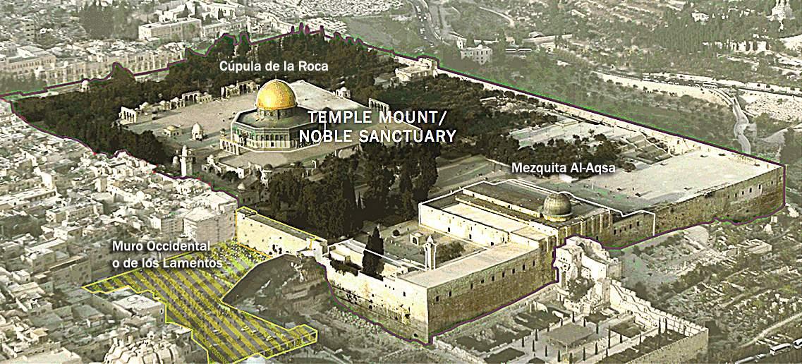Editorial streicher sobre la ubicaci n del templo jud o for De donde es la roca