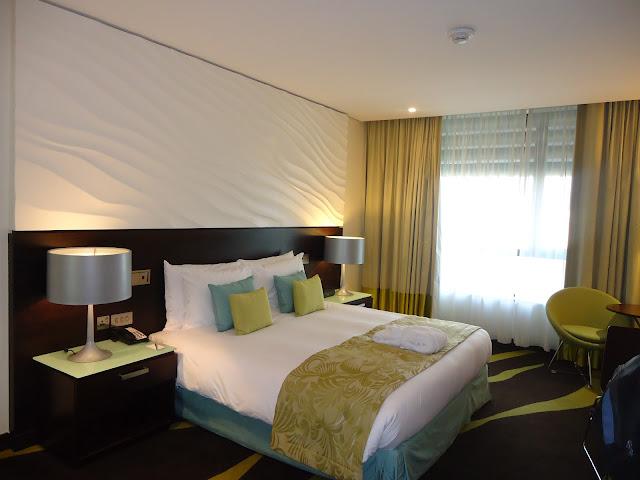 room inside Radisson Blu Yas Island Abu Dhabi