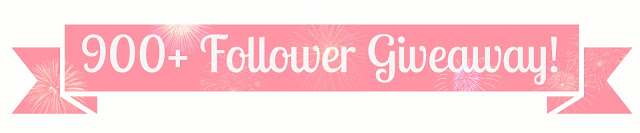 900+ Follower Giveaway (UK only)