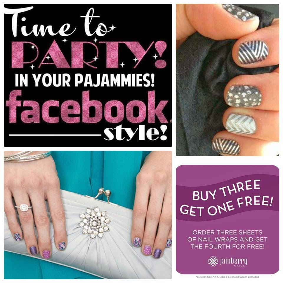 Host a Facebook Jamberry Party Today!