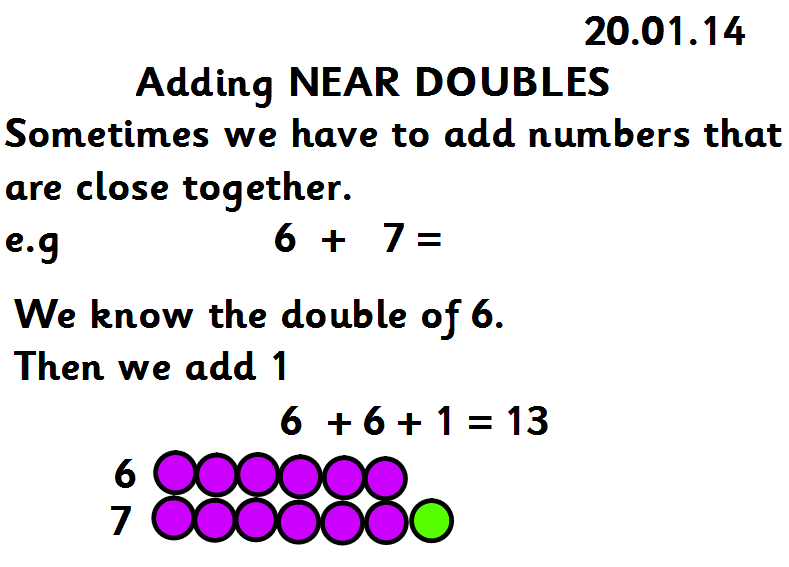 math worksheet : from our classroom  homeworks updated 26 9 16 : Near Doubles Addition Worksheet