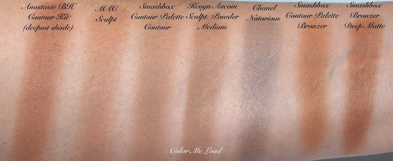 Smashbox Step By Step Contour Kit Review Swatch