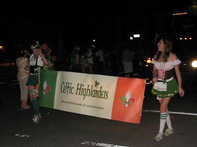 Celtic Highlanders:  Downtown Irish Club Parade, St Patrick's Day 2012, NOLA