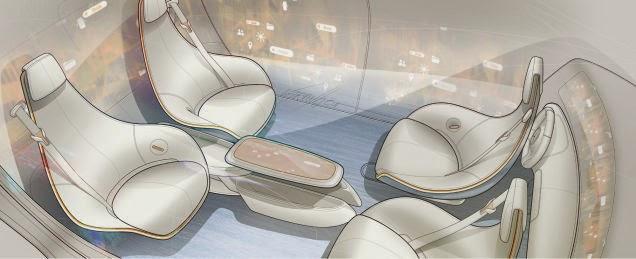 Mercedes-Benz Autonomous Driving concept
