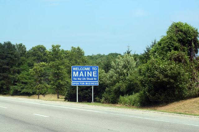 maine state line