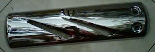 Cover knalpot Yamaha Vixion