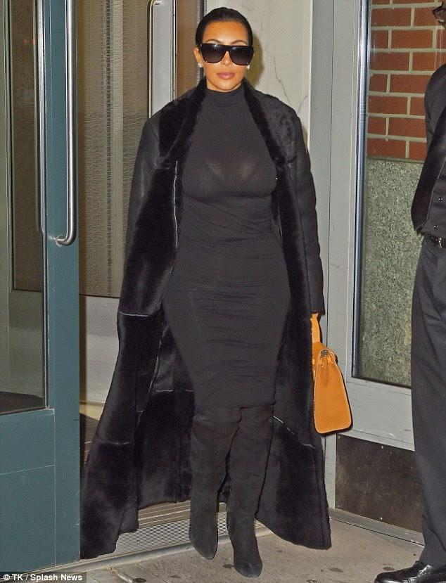 Jane Ofodiles Blog Kim Kardashian Shows Off Hourglass Figure In
