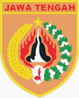 Badge lambang pramuka Jawa Tengah