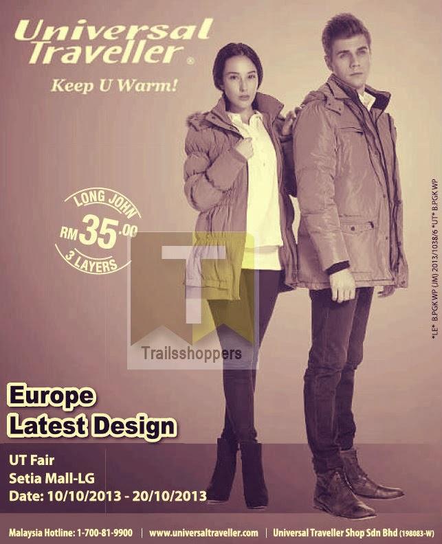 Universal Traveller Fair 2013 winterwear cold