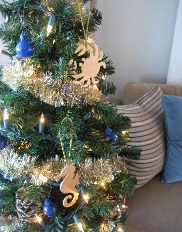 homemade sea ornaments