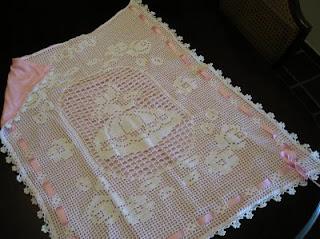 Crochet mis 10 mejores trabajos for Manta punto gordo
