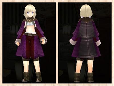 メイジローブ 紫1+茶色2