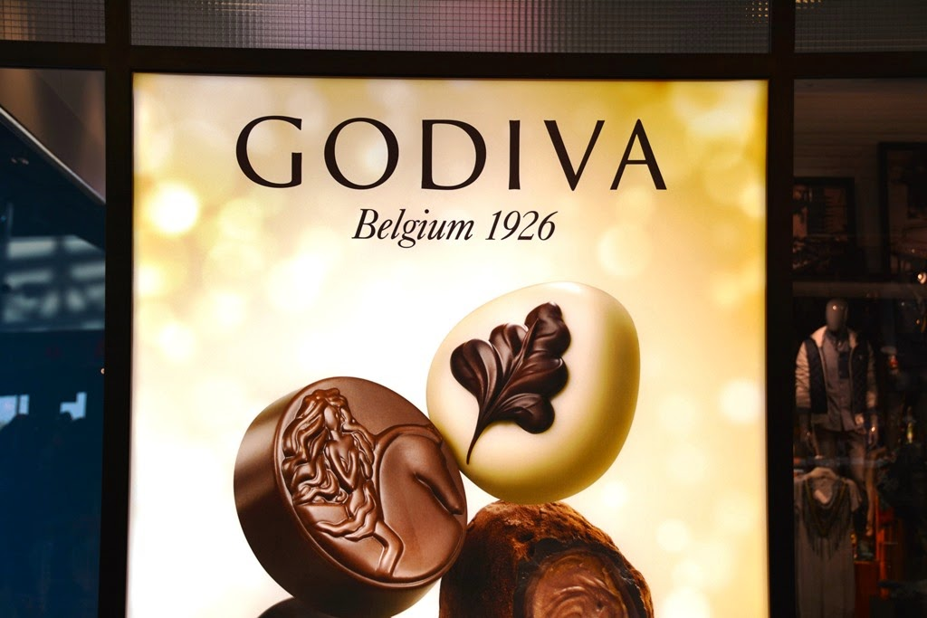 The Belgian Chocolate House Godiva pralines