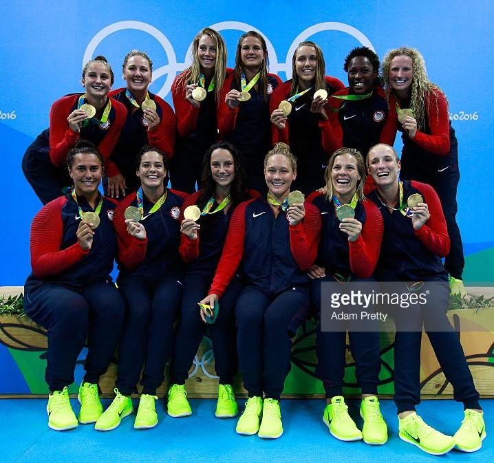 USA - Olympic winner Women, Rio 2016
