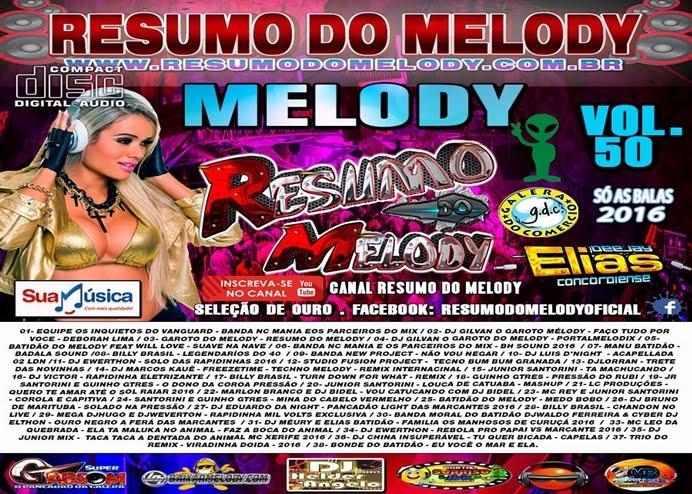 Cd Resumo do Melody vol.50 - 2016