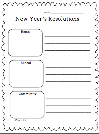 essay on teens resolution