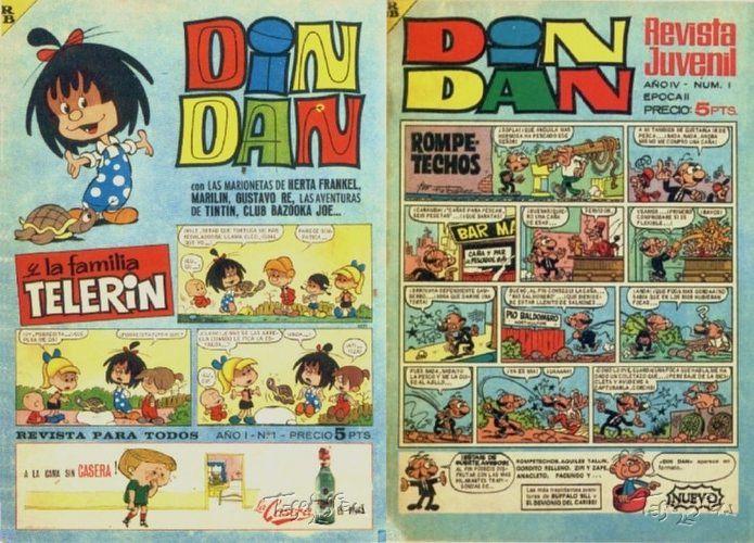 Compilatorios de la revista DIN DAN - EAGZA