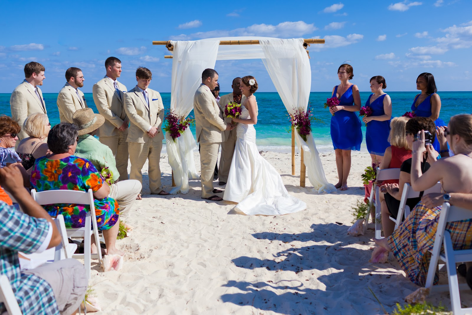 Chic Bahamas Weddings Destination Wedding