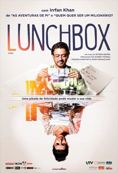 "Poster do filme ""Lunchbox"""