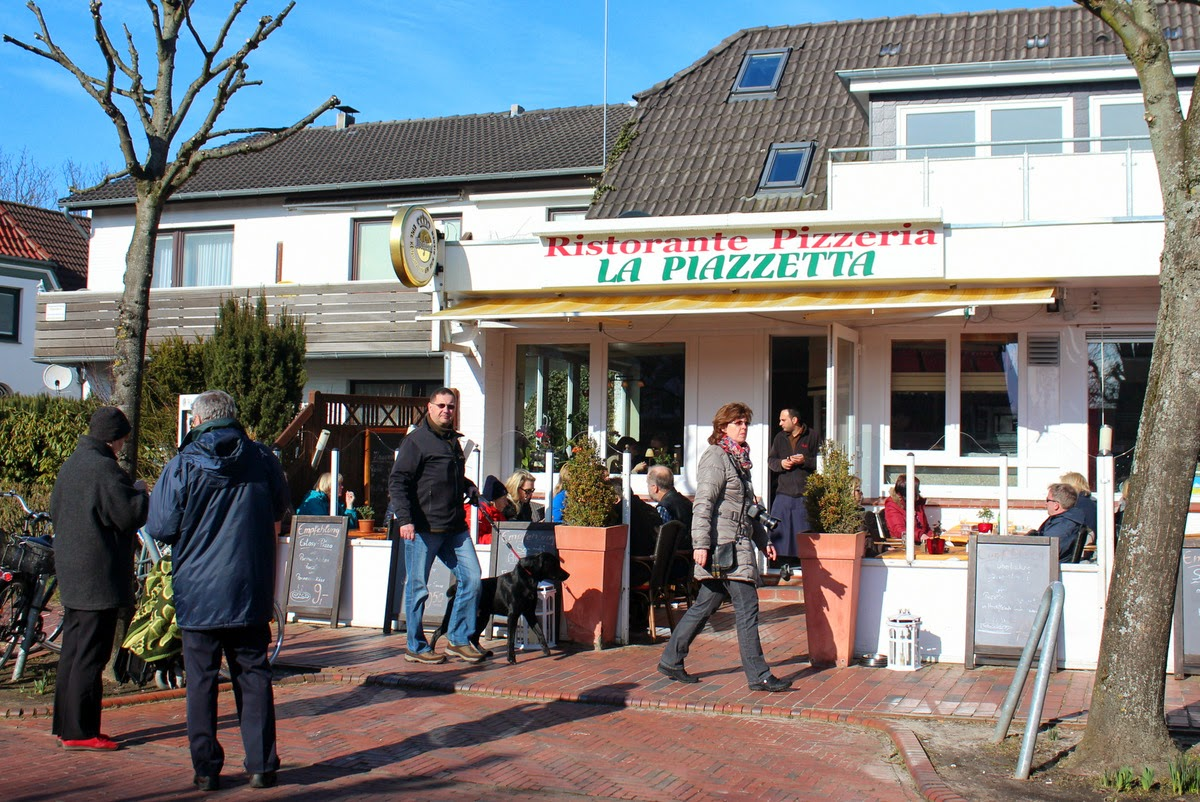 Restaurant La Piazzetta St. Peter-Ording, Foto 09.03.2014
