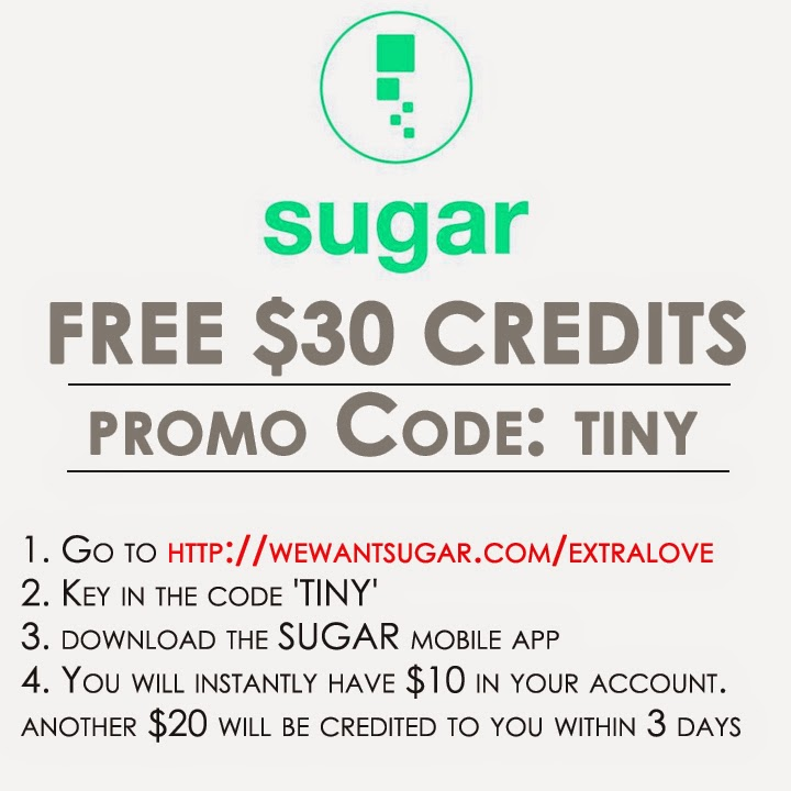 SUGAR Singapore promo code