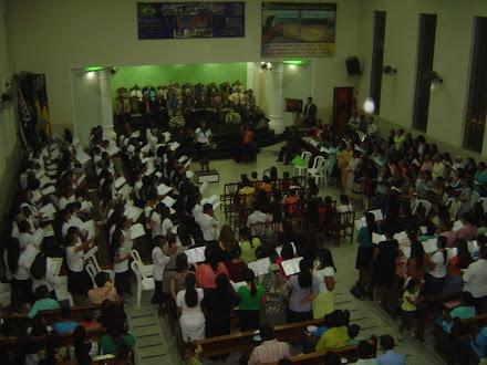 FOI  UMA  NOITE  ABENÇOADA, ASS. DE DEUS  EM  ARAÇATUBA  SP