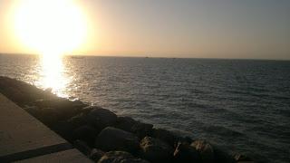 Arabian Gulf Sunset - Kuwait