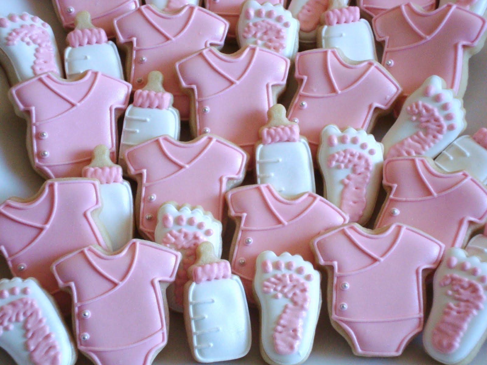 baby girl cookies baby shower ideas pinterest