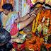 महिलाओं ने 'बसिअउरा' व्रत रखा और परम्परागत ढंग से की अष्टमी की पूजा|