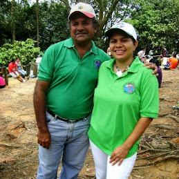 Con Wilfredo Requena de LTP