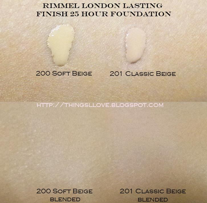 Rimmel Lasting Finish on NC30 skin