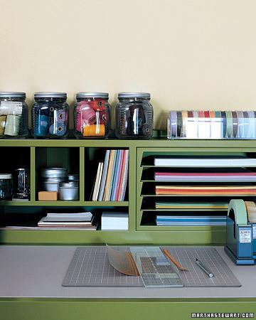Flower ali craft room storage ideas for Craft room paper storage ideas