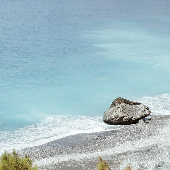 Agios Pavlos beach in Sfakia, Crete