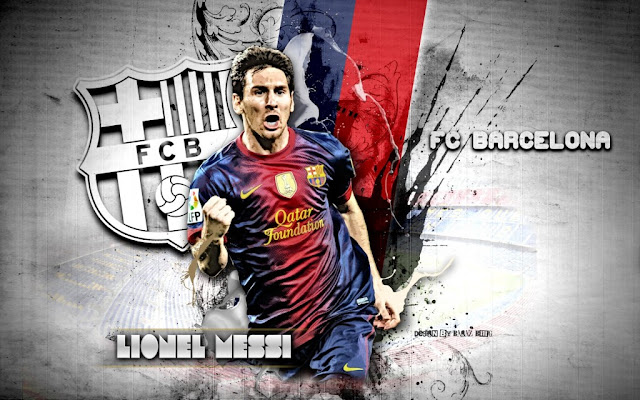 Lionel Andres Messi - FC Barcelona Wallpaper