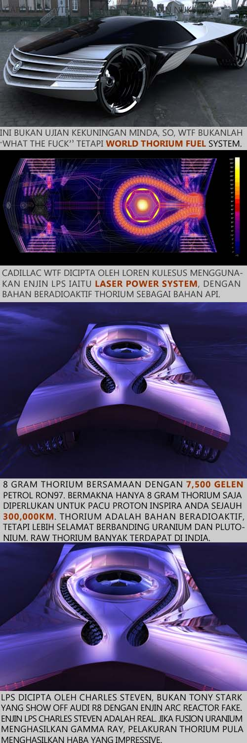 futuristic nuclear fuel car