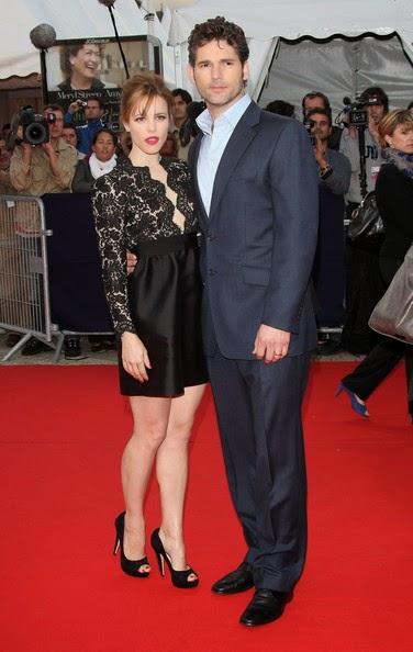 Eric Bana with Girl Friend