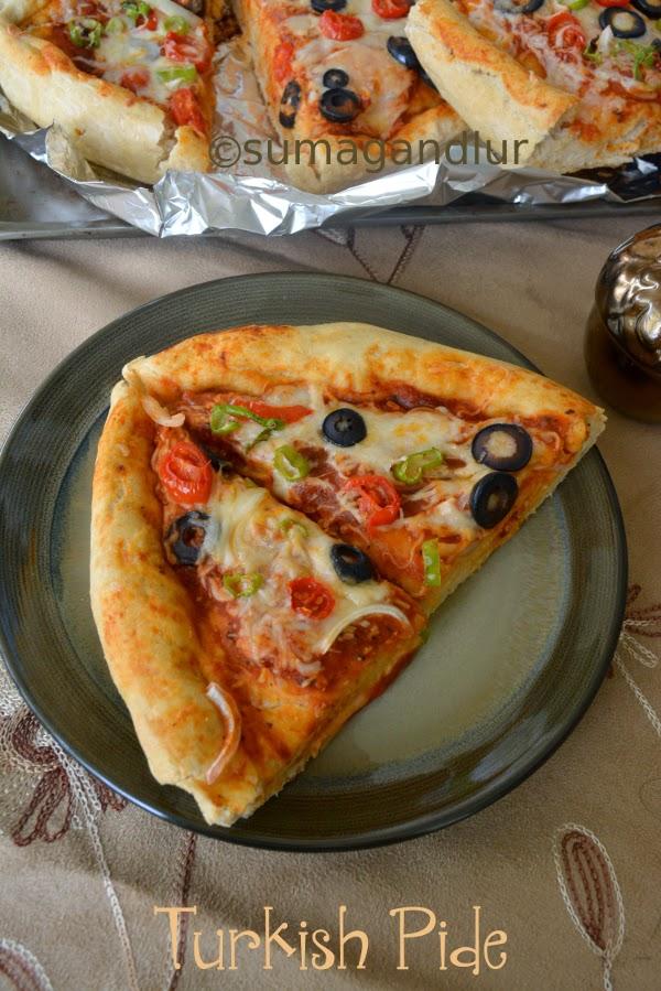 Turkish Pizza ~ Pide
