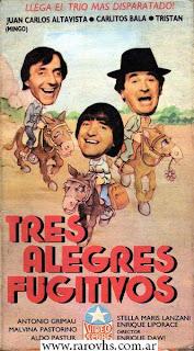 Tres alegres fugitivos (1988)
