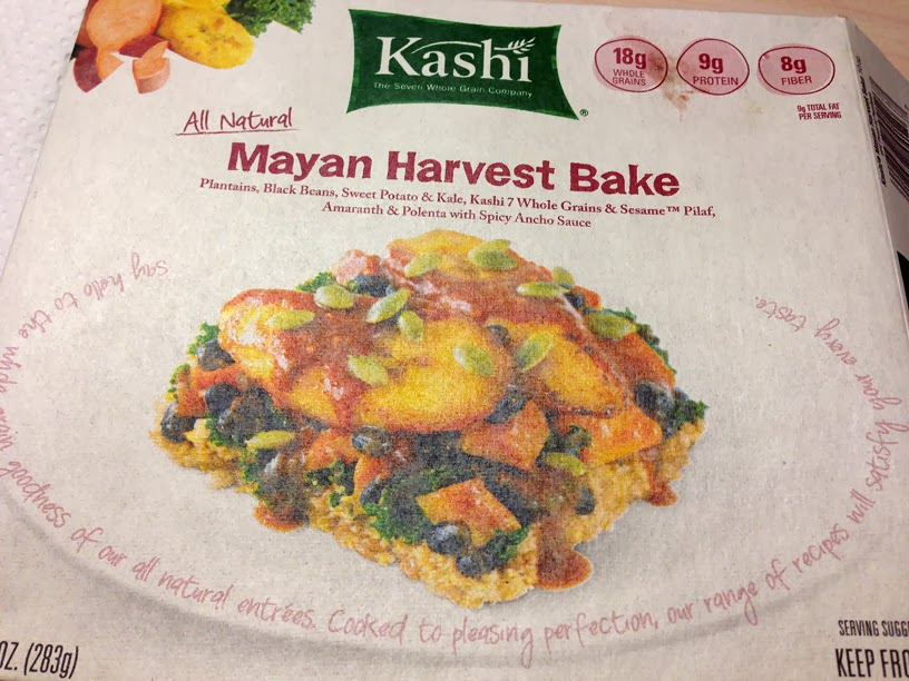 healthy girly life: Kashi frozen dinner review