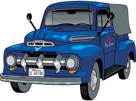 Paul's 1951 Ford Art Truck