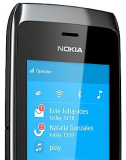 Nokia Asha 309 Full Touch WiFi Harga Rp 700 Ribuan