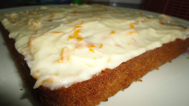 icing on my nose: Ginger Cake with Citrus Frosting