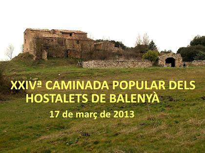 24ª Caminada Popular dels Hostalets de Balenyà 2013